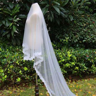 Neostar - Lace-Trim Wedding Veil