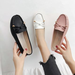 Putcho - Bow Accent Loafers
