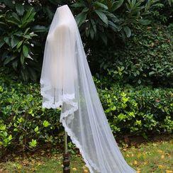 Neostar - 蕾丝边新娘头纱