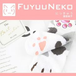 FuyuuNeko - Printed Socks