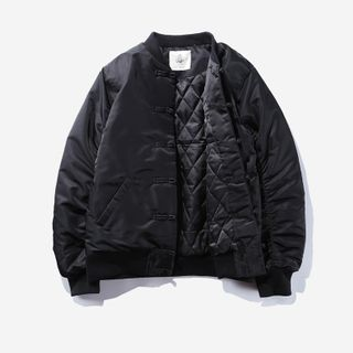 Mrlin - Frog-Button Padded Jacket