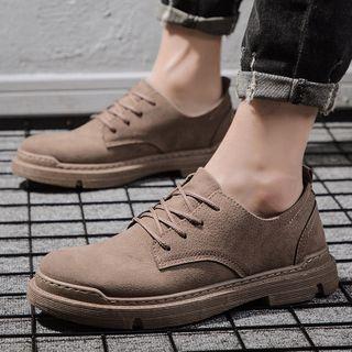 Lion Tips - Lace-Up Shoes