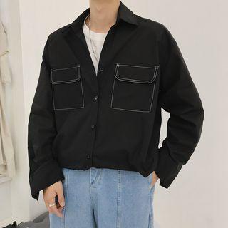 White City - Contrast Stitching Shirt