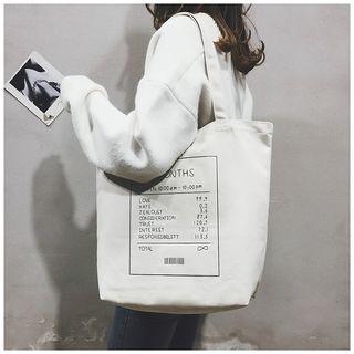 Libra - Print Canvas Tote Bag