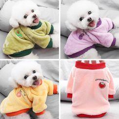 Salonga - 刺繡水果寵物上衣