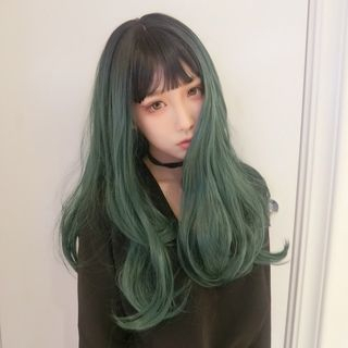Jellyfish - Long Full Wig - Gradient & Wavy