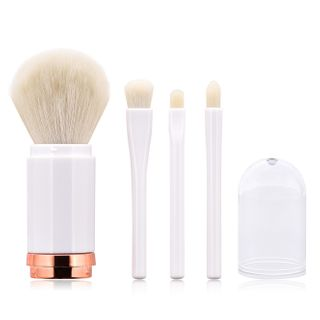 Stroke of Beauty - Double-Ended Retractable Makeup Brush