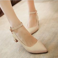 Freesia - Ankle Strap Pumps