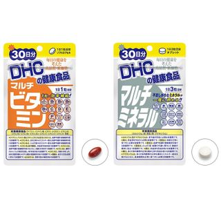 Dhc Health Supplement Multi Vitamins Capsules Multi Minerals Tablets Yesstyle