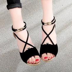Weiya - Ankle-Strap Sandals
