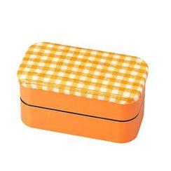 Hakoya - Hakoya Nunobari 2 Layers Lunch Box M Hoccori Yellow