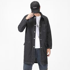 Rain Moment - Long-Sleeve Denim Jacket