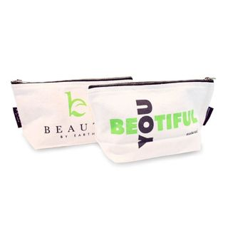 Beauty by Earth - Canvas Makeup Bag