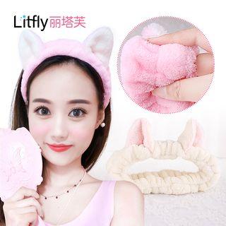 Litfly - Bandeau avec oreilles de chat