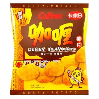 Calbee - Potato Chips Curry Flavor 25g