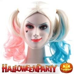 Party Wigs - HalloweenPartyOnline - Harley Quinn (Suicide Squad)