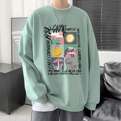 Deepwood - Graphic Print Sweatshirt