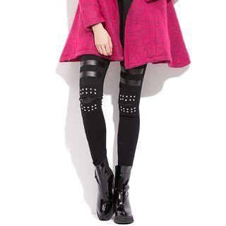 Georgina - Studded Leggings