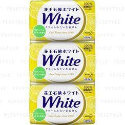 Kao - White Refresh Bath Soap 3 pcs