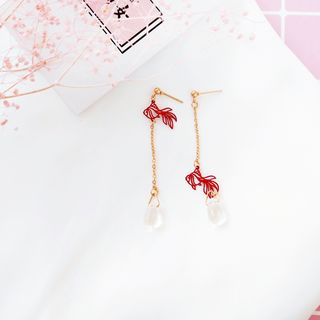 Siatra - Goldfish Drop Earring