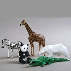 DAILYCRAFT - 3D Paper Animal Model Ornament