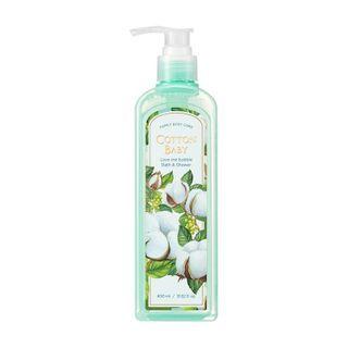 NATURE REPUBLIC - Love Me Bubble Bath & Shower Gel (#Cotton Baby) 400ml