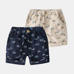 Seashells Kids - Kids Printed Shorts