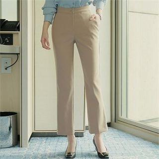 Styleberry - Flat-Front Dress Pants
