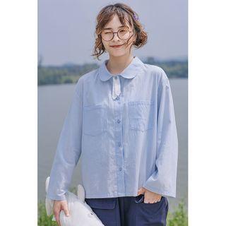 Echo Forest(エコーフォレスト) - Plain Shirt