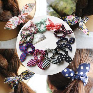 DEBE - Set of 10: Rabbit Ear Hair Tie