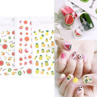 Monoe - Fruit Nail Art Stickers