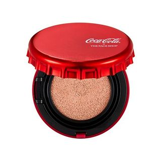 THE FACE SHOP - Ink Lasting Cushion Coca Cola Special Edition - 2 Colors