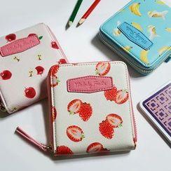 BABOSARANG - 'Melody Fruits' Series Zipped Wallet