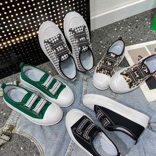 Weiya - Adhesive Strap Platform Sneakers