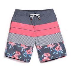 Shorell - Floral Print Beach Shorts