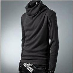 Free Shop - Turtleneck Knit Top