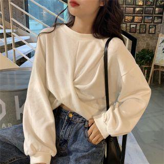 EROPIA - Twisted Front Sweatshirt