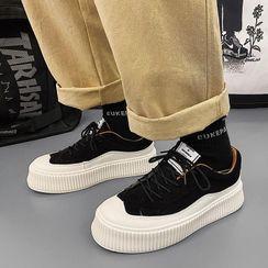 Tanzanite - Platform Sneakers