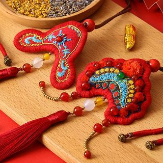 Embroidery Kingdom - Couple Matching Amulet DIY Embroidery Kit