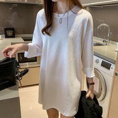 Vinales - Long-Sleeve T-Shirt Dress