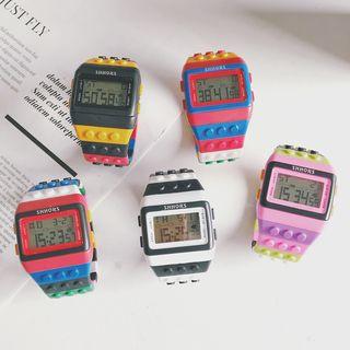 InShop Watches - Building Block Digital Strap Watch