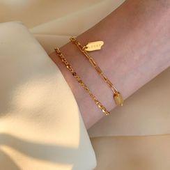 Wilma - 925 Sterling Silver Chain Bracelet