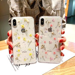 NISI - Dry Flower Phone Case - Apple / Oppo / Vivo / Huawei / Samsung / MI