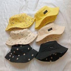 TAAK - 双面印花渔夫帽
