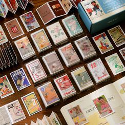 云木良品 - 印花日期日记背景装饰纸