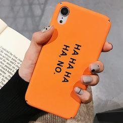 Chatarine - Lettering Case - iPhone 6 / 6 Plus / 7 / 7 Plus / 8 / 8 Plus / X/ XR / XS / XS MAX