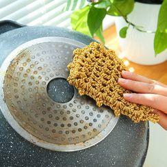 SunShine - 韓國金絲線抹布吸水不掉毛洗碗布家用不沾油家務清潔去油洗碗巾