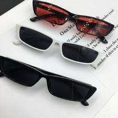 Aisyi - 復古小框太陽眼鏡