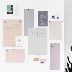 Full House - live work-Wall Planner (various designs)