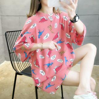 Annyoung  - 七分袖印花T裇